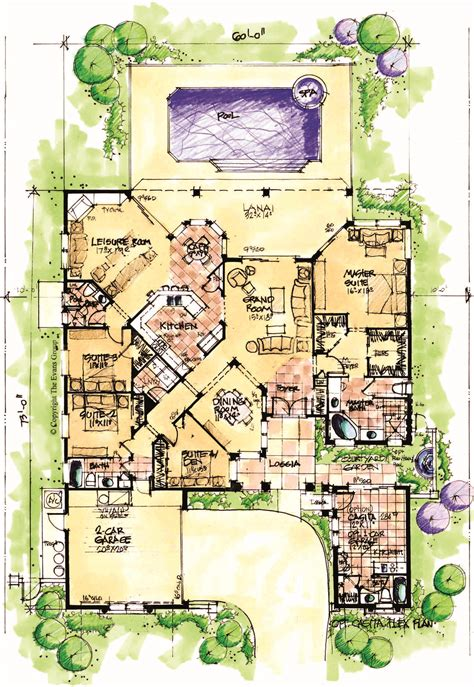 House Plans With Casitas house review casitas and in law suites pro builder
