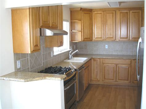 Kitchen Units Design Modern Light Brown Kitchen Cabinets Quicua