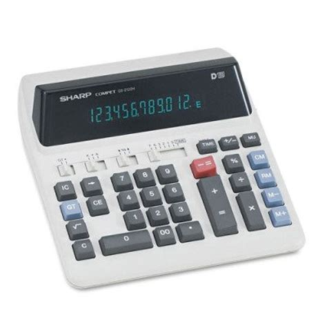 Calculator Joyko 12 Digits Standard Desktop Calculator sharp qs2122h qs 2122h compact desktop calculator 12