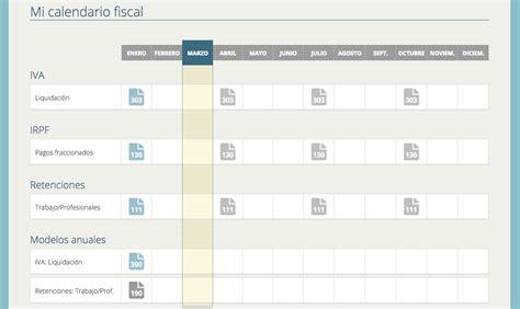 Calendario Fiscal Calendario De Obligaciones Fiscales En 2016 Ayuda De