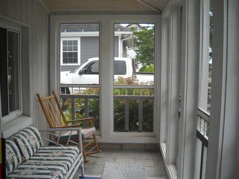 Small Screened Back Porch