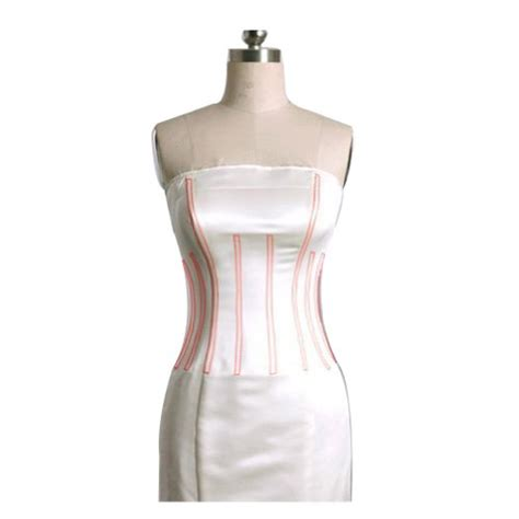 Neck Strapless Kb 005 george sweetheart neckline strapless taffeta court wedding dress size 6 white big