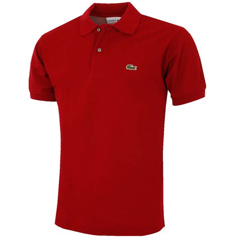 Lacoste Shirt lacoste 2017 mens classic cotton l1212 sleeve polo