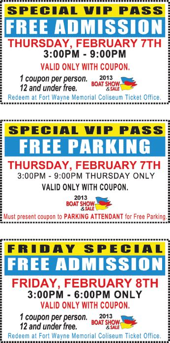 indianapolis boat show discount tickets fort wayne boat show coupons 2013 fort wayne boat show