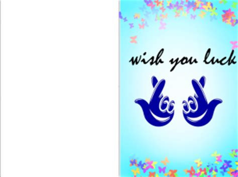 printable card good luck greeting cards good luck
