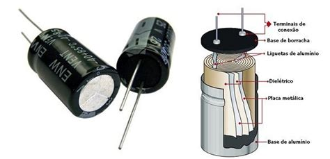 o que é capacitor eletrolitico como funcionam os capacitores mundo da el 233 trica