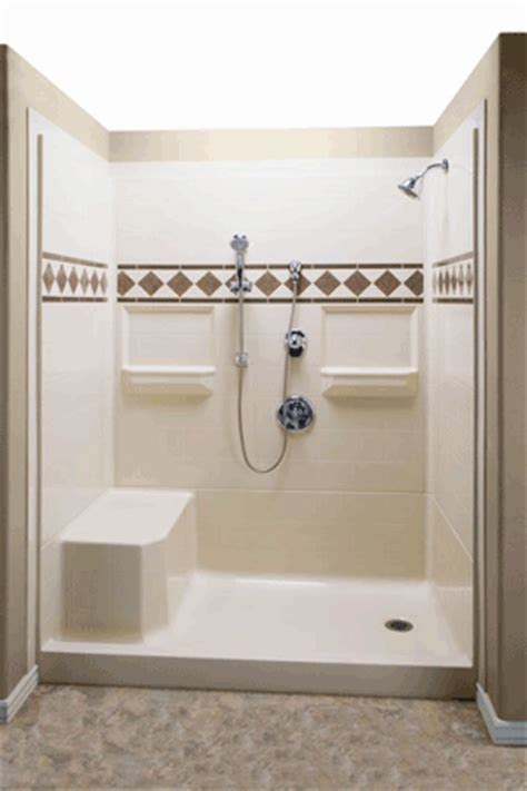What Is Roll In Shower by Roll In Showers And Tubs Available From Sequim