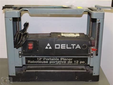 delta 12 quot x 5 9 quot portable planer model 22 540c