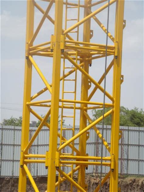 tower crane mast section self erecting potain tower crane 12 tons 1 6x1 6x3m mast