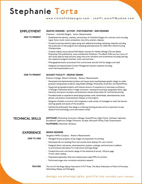 8 very good cv exles hr cover letter