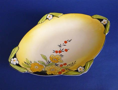 burleigh pattern numbers unusual burleigh ware art deco floral dish c1935 pattern