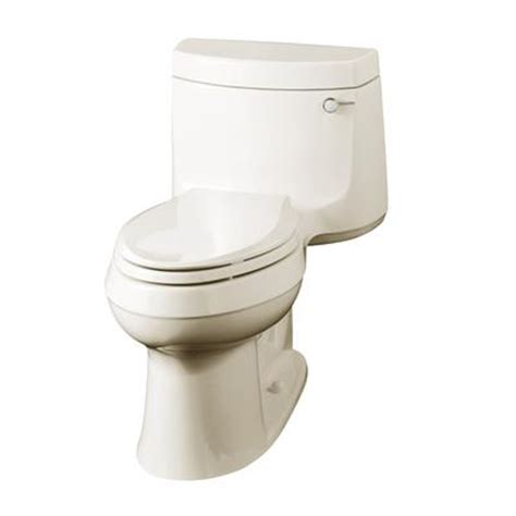 kohler cimarron comfort height elongated toilet in almond