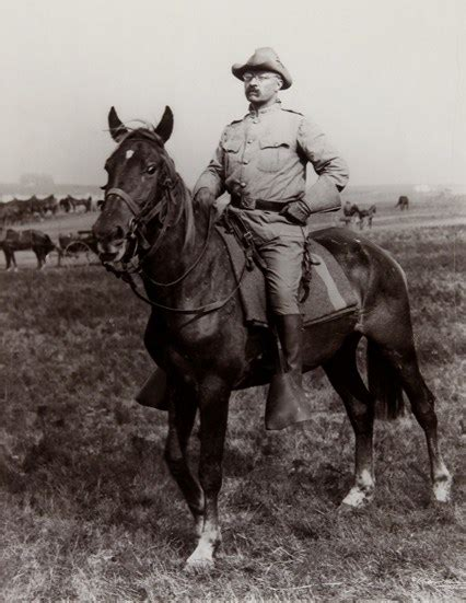 that famous photo of teddy roosevelt riding a moose is fake t r the rough rider hero of the spanish american war