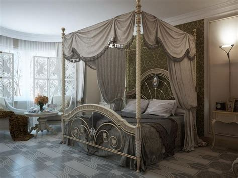 luxury canopy bed keep it fancy luxurious bedroom ideas