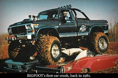 bigfoot the original truck the original bigfoot truck 171 monsters