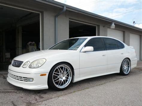 tan lexus ne 2000 lexus gs300 white tan stance rmm clublexus