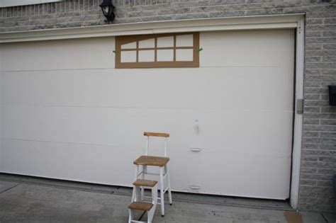 Faux Garage Windows Inspiration Charming Garage Doors Garage Door Faux Window Frightening Image Concept Minimalist Related To