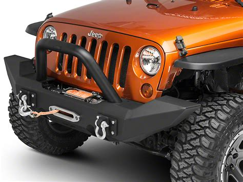 jeep jk grill light bar camber fabrications by mbrp front wrangler light bar