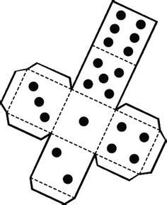 printable dice dots printable die dice by snifty a template for printing out