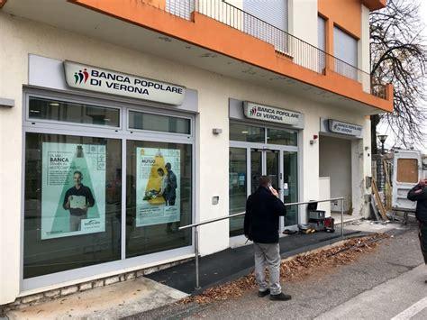 bancomat banco popolare riese pio x ladri sradicano il bancomat della