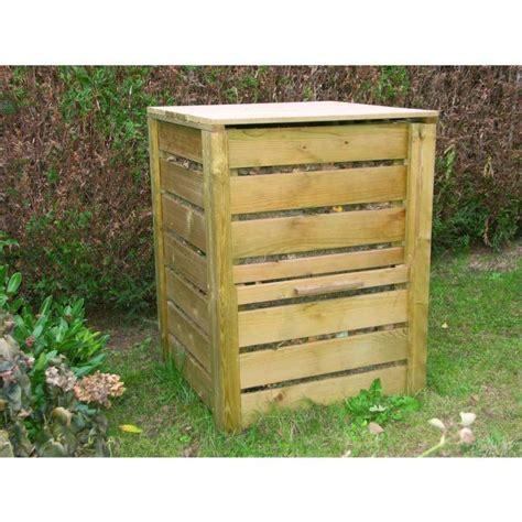 composteur de jardin composteur de jardin bois l80xp80xh95 cm achat vente broyeur composteur composteur de