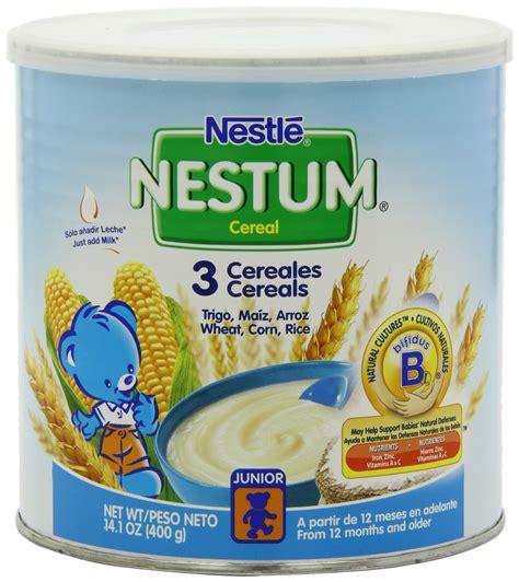 nestle nestum cereal wheat and honey 10 5 ounce