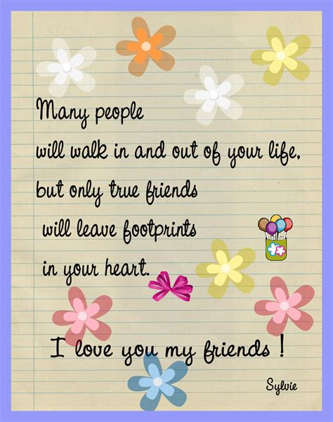 Love For A Friend Quotes by I Love My Friends Keep Smiling Fan Art 8805029 Fanpop