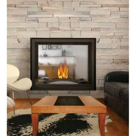 napoleon see through fireplace napoleon bhd4 ascent multi view direct vent see thru gas fireplace