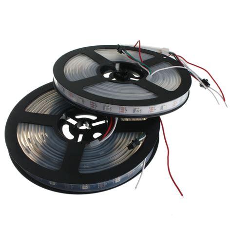 Lu Led 5050 Rgb Waterproof Ip67 Usb 1 Meter 5v 5m ws2812b 5050 rgb ip67 imperme 225 vel de cor 150 led faixa