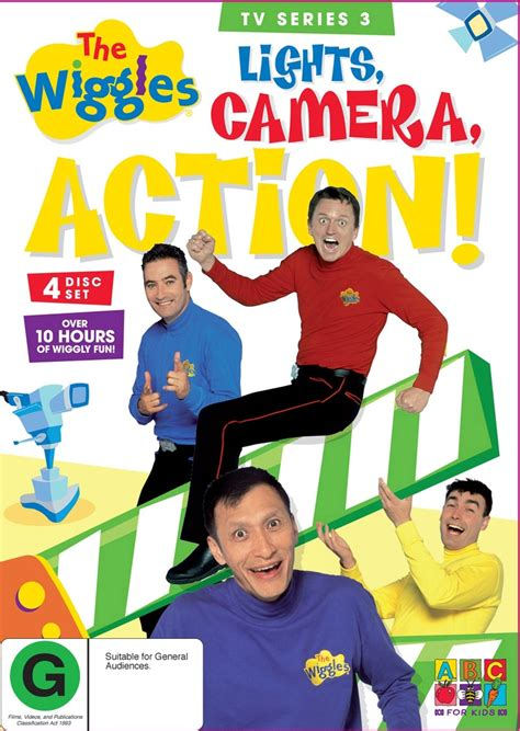 the wiggles lights the wiggles tv series 3 lights 4 disc