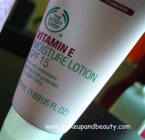 Harga The Shop Sunscreen the shop vitamin e moisture lotion spf 15 review