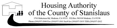 section 8 housing modesto ca county of stanislaus housing authority in california