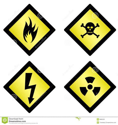 imagenes de simbolos que representen peligro s 237 mbolos del peligro foto de archivo imagen 8885550