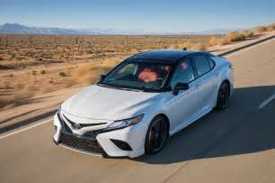 Toyota Camry 2018 2018 Toyota Camry Xse V 6 Vs 2018 Honda Accord Touring 2