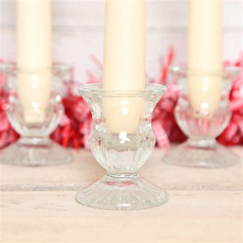 Small Glass Candle Holders Small Glass Candle Holder By Berry Apple