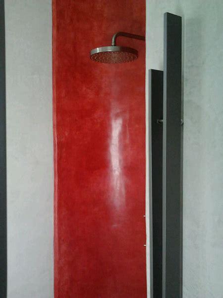 vano doccia foto vano doccia rivestito in tadelakt di opus