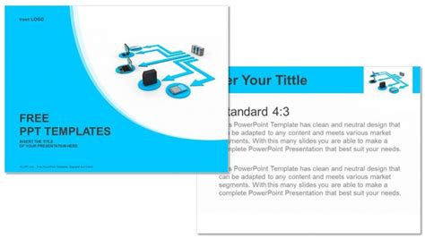 Computer Network Business Powerpoint Templates Computer Network Ppt Templates Free