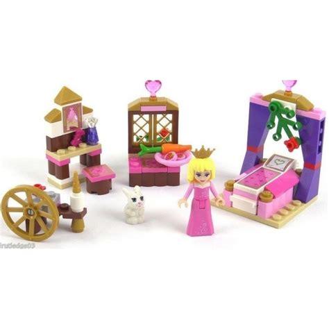 Lego Princess Diary Beautiful lego disney princess sleeping s royal bedroom 41060 hellotoys net