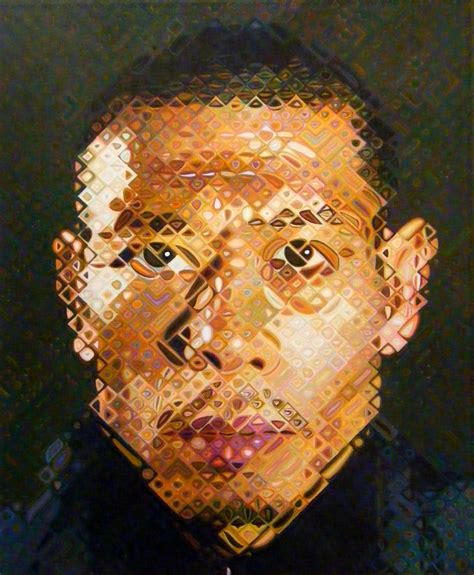 Home Layout Master Design by A Man And His Grid Artist Chuck Close Give Us Art