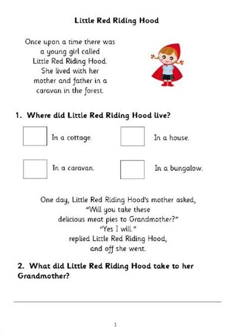 reading comprehension test ks1 reading comprehension assessment ks2 reading