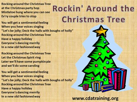 rockin around the christmas tree lyrics more information