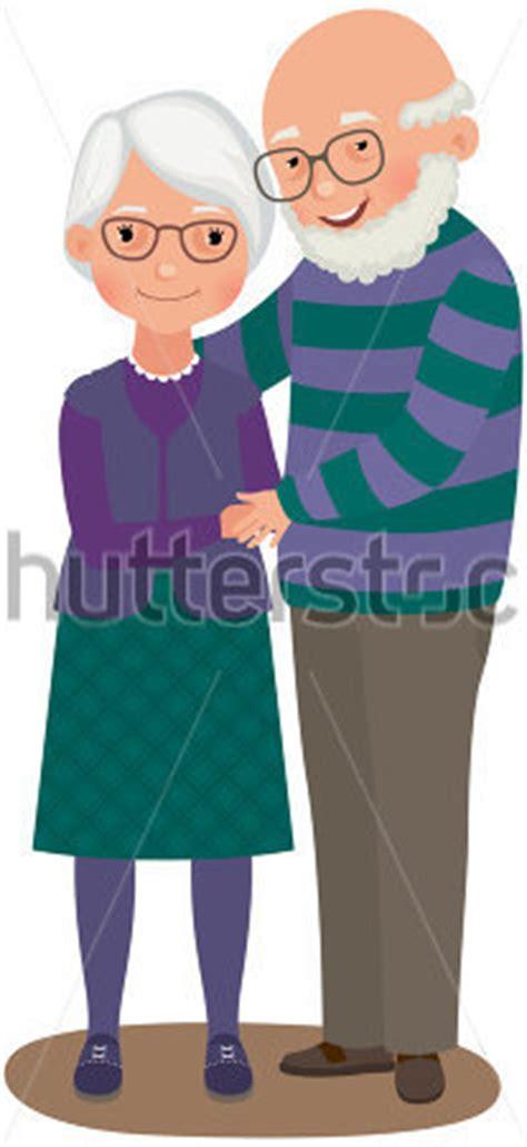 imagenes de amor de viejitos animados ancianos una pareja casada en amor ancianos par vectores