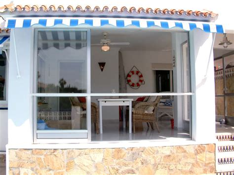 veranda verglast ferienhaus la gaviota caleta de v 233 andalusien costa