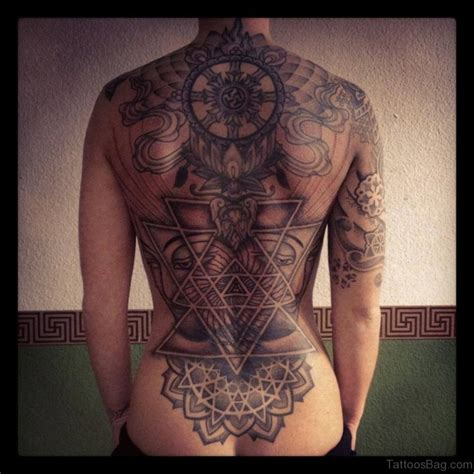 tattoo geometric back 75 excellent geometric tattoos on back