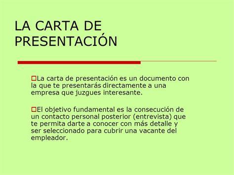 ejemplo de carta de presentacin para una empresa la carta de presentaci 211 n ppt video online descargar