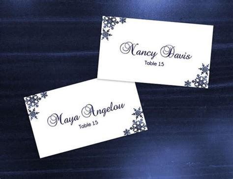 diy card template diy printable wedding place name card template 2369774