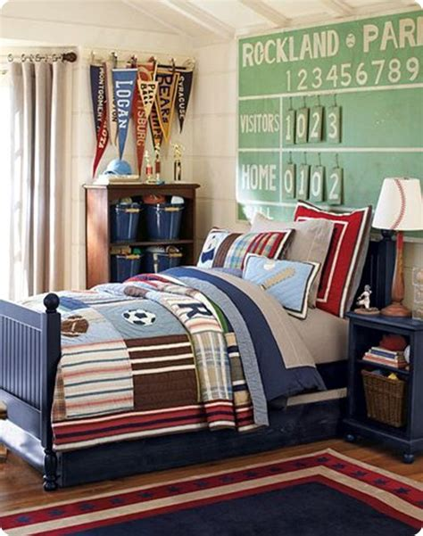 boys room ideas sports theme with inspired by the - Boys Baseball Schlafzimmer