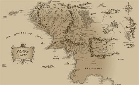 the lord of the rings middle earth map 94 best the hobbit images on