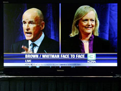Uc Davis Mba Ranking Bloomberg by Dan Walters No Knockout Punches In Brown Whitman Debate