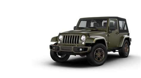 Jeep Wrangler Italia Jeep Wrangler 75th Anniversary Arriva In Italia